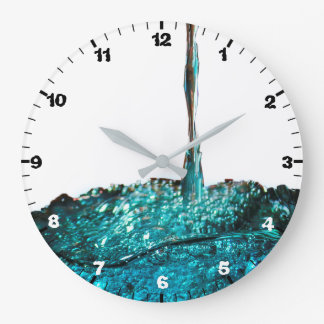 Time Flows By Large Clock
