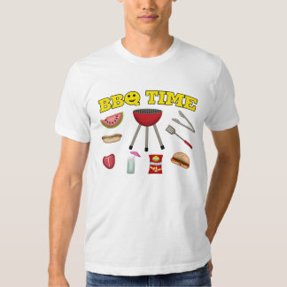 Time For A BBQ T-shirt