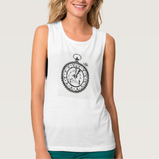 Time for a change !Woman Muscle Tank Top!