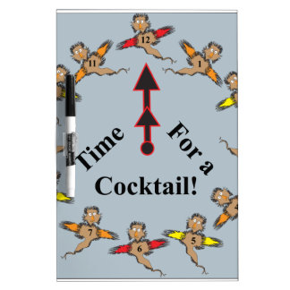 Time for a Cocktail! Dry-Erase Whiteboards