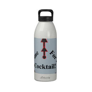 Time for a Cocktail! Reusable Water Bottle