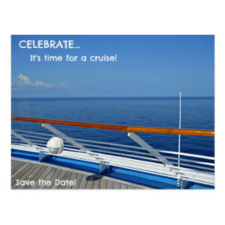 Time for a cruise...Save the Date Postcard