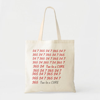 Time for a cure tote bag