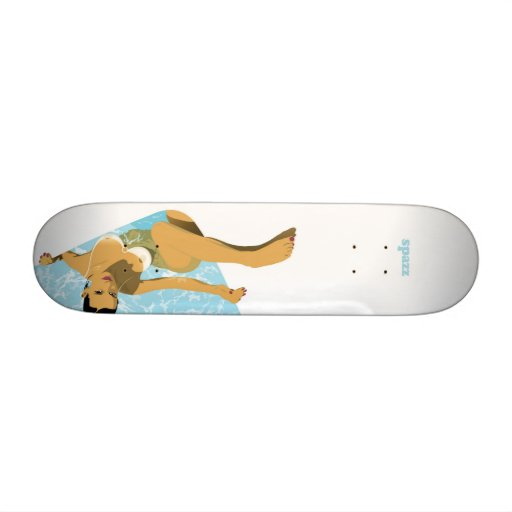 Time for a Dip? Skateboard