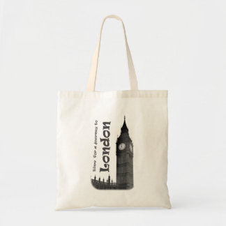 Time for a Journey to London - Tote Bag
