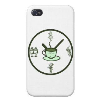 Time for a Mad Tea Party5 Covers For iPhone 4