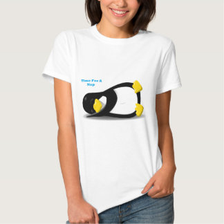 Time For A Nap Penguin T Shirt