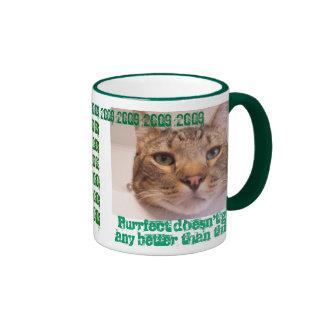 Time for a pat on back coffee mug