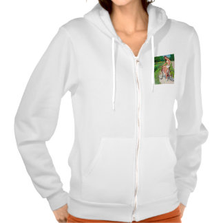 Time for a Ride - Retro Pin-up Girl Pullover