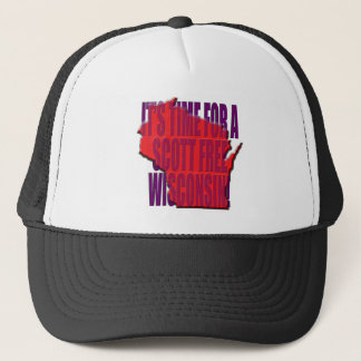 Time for A Scott Free Wisconsin Trucker Hat
