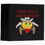 Time For A Showdown 2 Vinyl Binder