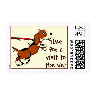 Time for a Visit to the Vet Postage