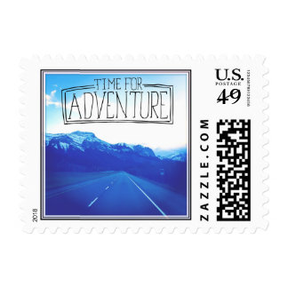 Time For Adventure Postage
