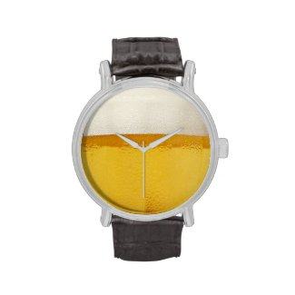 Time For Beer Wristwatch