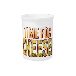 Time For Blue Cheese Beverage Pitchers