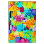 TIME FOR BUBBLY - Colorful Bright Bold Abstract Dry-Erase Whiteboards