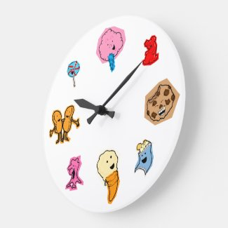 Time For Candy Clock