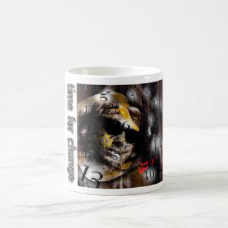 Time For Change Coffee Cup Classic White Coffee Mug