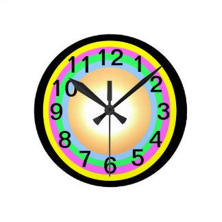 Time for Change! Medium Round Round Clock