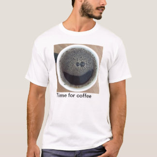 Time for coffee smiley face T-Shirt