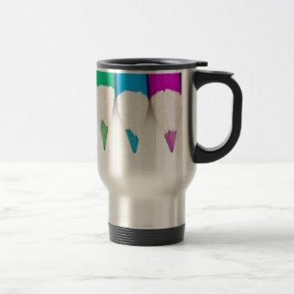 Time for creativity. travel mug