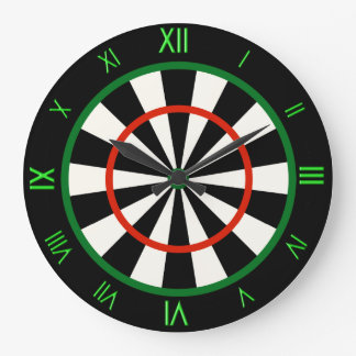 Time for Darts Cool Novelty Wall Clock