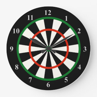 Time for Darts Unique Novelty Wall Clock