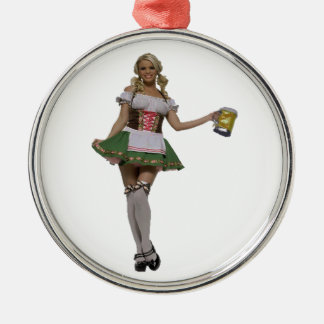 TIME FOR FEST METAL ORNAMENT