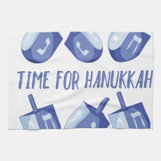 Time For Hanukkah Towel