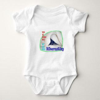 Time for hibernating baby bodysuit