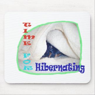 Time for hibernating mouse pad