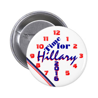Time for Hillary Button