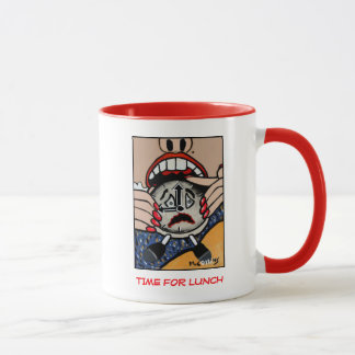 Time For Lunch  - Time Pieces Mug