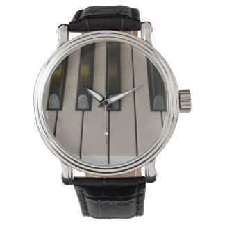 Time for Music Piano Keys Wrist Watch