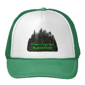 Time for My Squatch!-Clothes Only Trucker Hat
