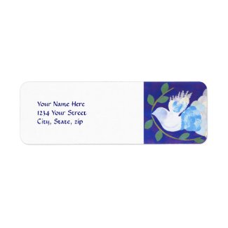 Time for Peace address label label