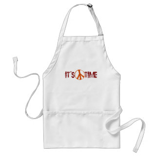 Time For Peace Adult Apron