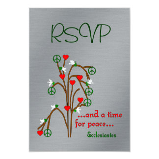 Time For Peace Card