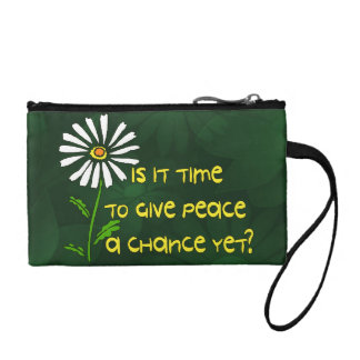Time For Peace Coin Purse