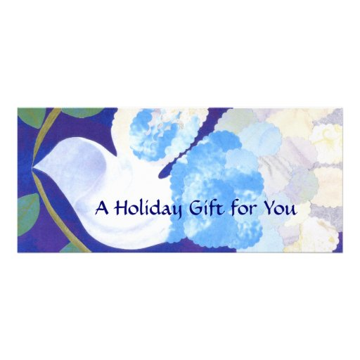 Time for Peace Gift Certificate template Rack Card Design