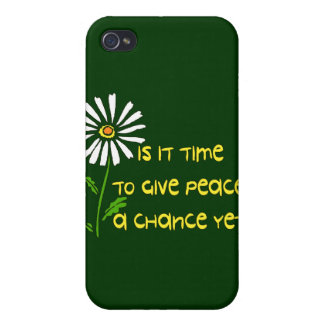 Time For Peace iPhone 4/4S Cases