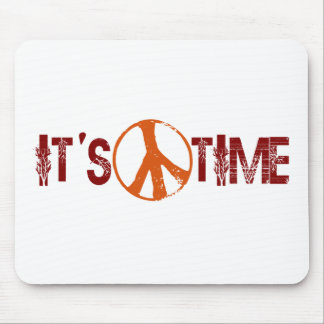 Time For Peace Mouse Pad