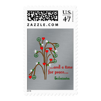 Time For Peace Postage Stamp