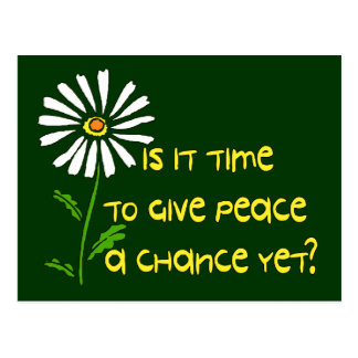 Time For Peace Postcard