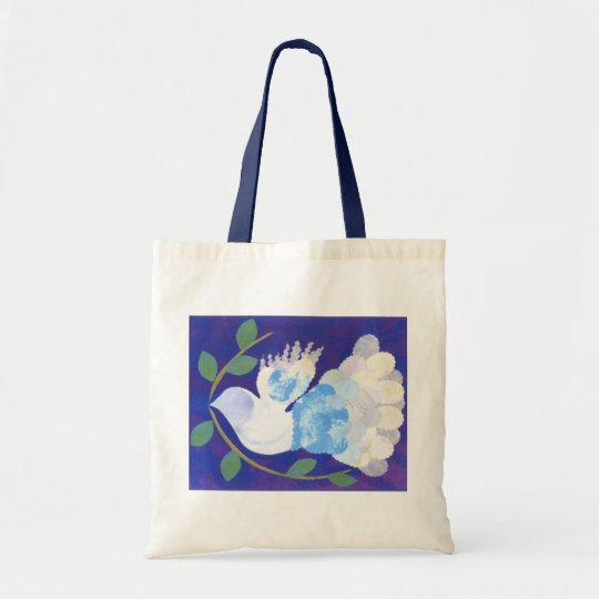 Time for Peace tote bag