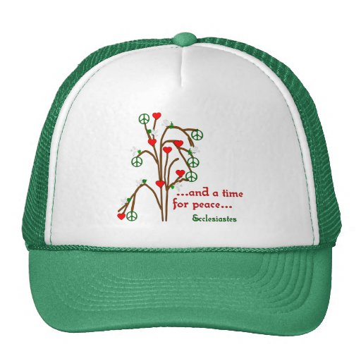 Time For Peace Trucker Hat