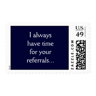 Time for Referrals Postage
