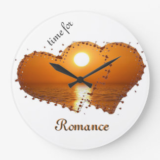 time for romance large clock