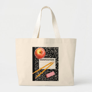 Time for School Large Tote Bag