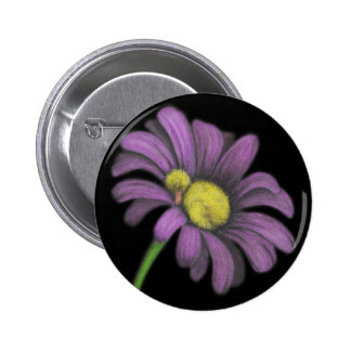 Time for snoozes my little flower. pinback button